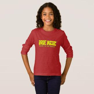 Long T-shirt de douille d'IRIE KIDZ