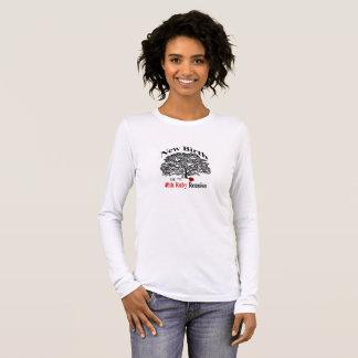Long tee - shirt de douille de dames t-shirt à manches longues