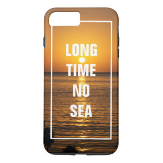 Long temps aucune plage tropicale de calembour coque iPhone 7 plus