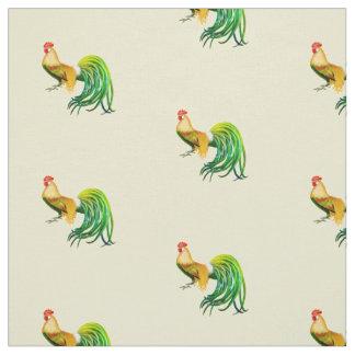 Long tissu coupé la queue de poulet de coq