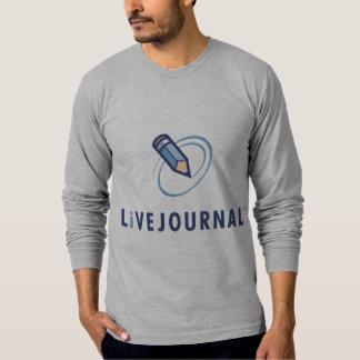Longs t de douille (verticale de logo) t-shirt