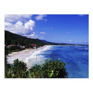 Longue baie, port Antonio, Jamaïque Carte Postale