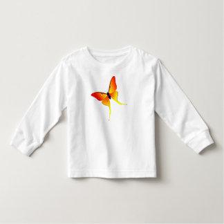 Longue chemise de douille de flamme d'enfant en t-shirts