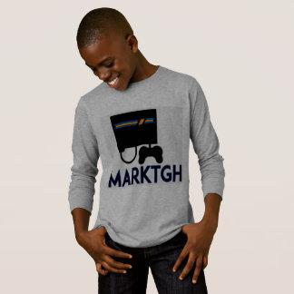 Longue chemise de douille de MarkTGH T-shirt