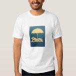 Longue chemise de douille t-shirts