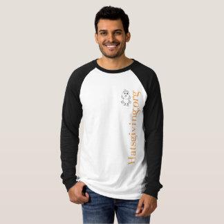 Longue douille de Hatsgiving T-shirt
