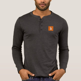 Longue douille de K T-shirt