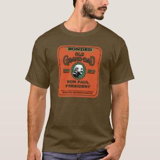 Longue douille de Ron Paul Brown T-shirt