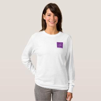 Longue douille T de sept soeurs ensemble T-shirt