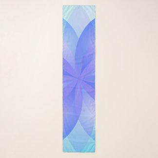 Longue fleur de Lotus d'abrégé sur écharpe