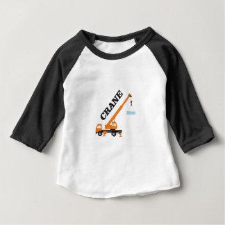 longue grue t-shirt pour bébé