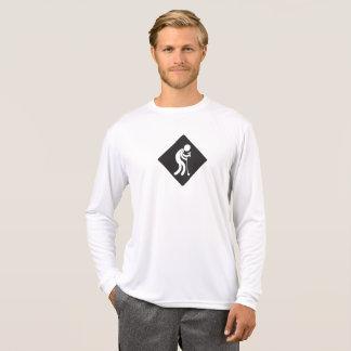 Longue pièce en t de club de sports de vieil homme t-shirt