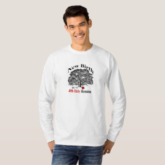 Longue pièce en t de la douille des hommes t-shirt