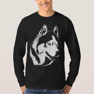 Longues chemises de chien de pièce en t de douille t-shirts