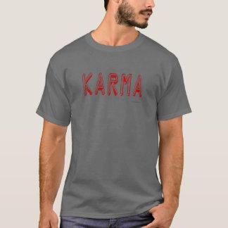 Longues et courtes de douille chemises de karma t-shirt