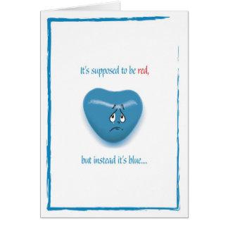 (l'ONU) Carte de heureuse Sainte-Valentin
