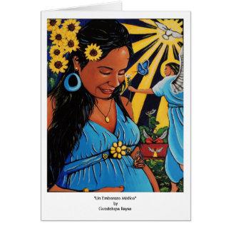L'ONU Embarazo Místico Carte De Vœux