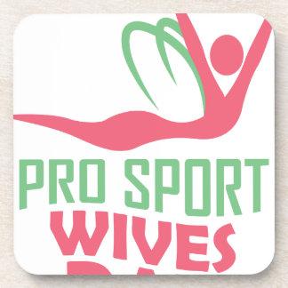 L'onzième février - jour d'épouses de pro sports dessous-de-verre