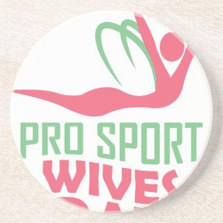 L'onzième février - jour d'épouses de pro sports dessous de verres
