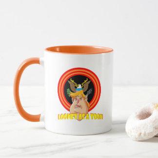Looney en tant que président de Toon Mugs