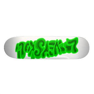 LooneySkull-Vert Plateau De Planche À Roulettes