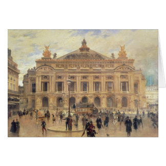 L'Opera, Paris Cartes