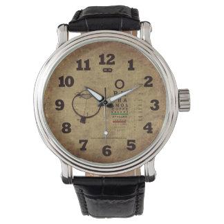 L'ophthalmologie perle la montre-bracelet vintage montres cadran