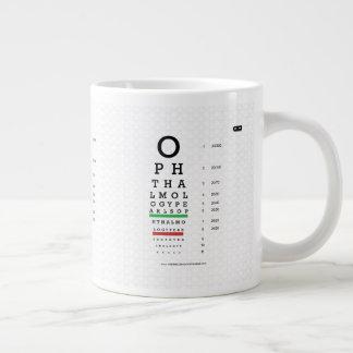 L'ophthalmologie perle la tasse d'éléphant