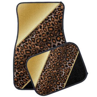 L'or | du poster de animal | de Jaguar Tapis De Sol