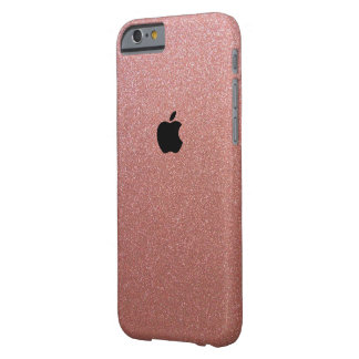 L'or rose d'Apple Iphone 6/6s a scintillé coque Coque iPhone 6 Barely There