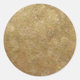 L'or simple mélange des autocollants