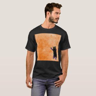 L'orange est le T-shirt rare de nouvelle aquarelle
