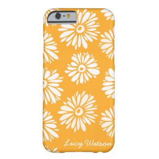 L'orange fleurit la caisse de l'iPhone 6