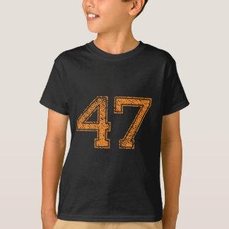 L'orange folâtre le nombre 47.png de Jerzee T-shirt