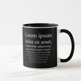 Lorem Ipsum Tasses