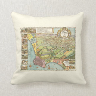 Los Angeles 1871 Coussin