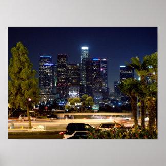 Los Angeles du centre Posters