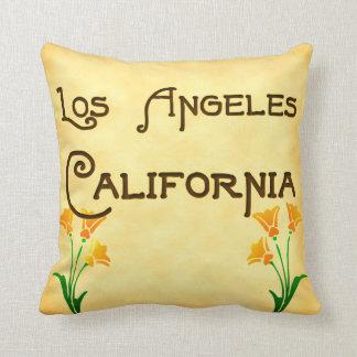 Los Angeles, la Californie avec le coussin de