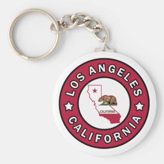 Los Angeles la Californie Porte-clé Rond