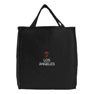 LOS ANGELES, LA FOURRE-TOUT NOIR SACS FOURRE-TOUT BRODÉS