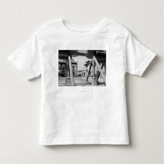 Los Angeles, nouvelle Chinatown scène de rue de CA T-shirt Pour Les Tous Petits