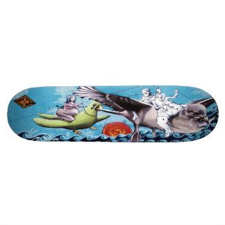 Los Pescadores de Nuebes - plate-forme de patin de Plateau De Skateboard