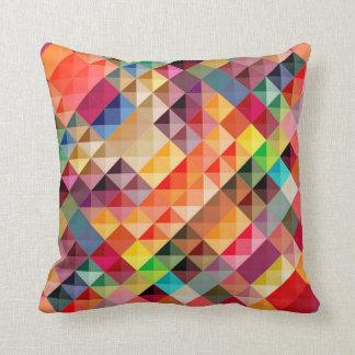 Losanges de couleurs oreillers
