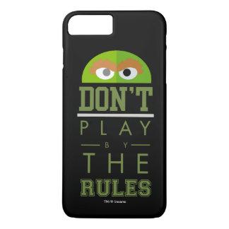 L'oscar ne jouent pas par des règles coque iPhone 8 plus/7 plus