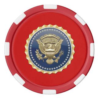 Lot De Jeton De Poker [400] Insigne présidentiel de service [PSB]