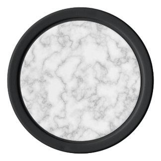 Lot De Jeton De Poker Arrière - plan en pierre marbré de marbre de blanc
