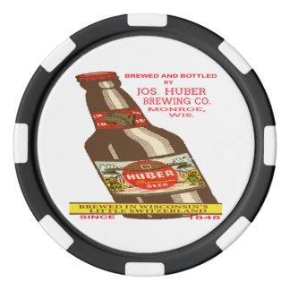 Lot De Jeton De Poker Bière de Huber