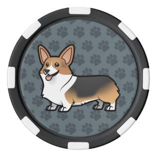Lot De Jeton De Poker Concevez votre propre animal familier