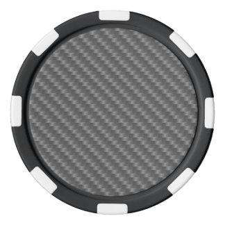 Lot De Jeton De Poker Fibre de carbone toute couleur