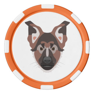Lot De Jeton De Poker GermanShepherd01_01_B_Quadrat.ai